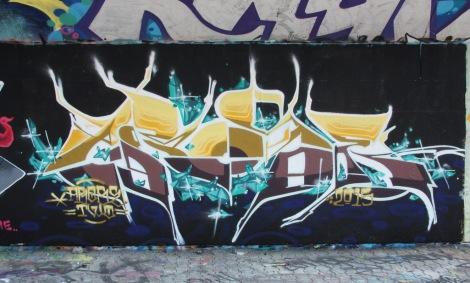 Arose at the PSC legal graffiti wall