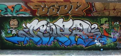 Noper at the PSC legal graffiti wall