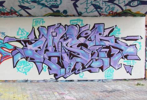Ensor at the PSC legal graffiti wall