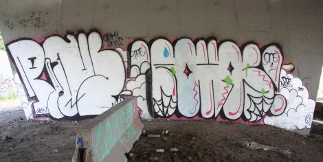 Pane and Rokos underneath Expressway
