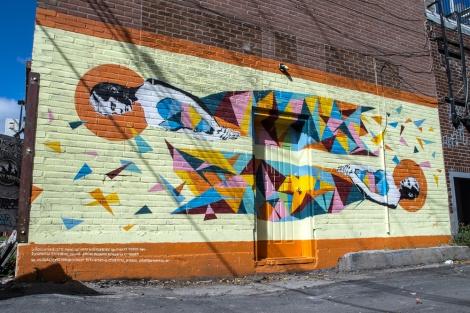 Mateo mural in Rosemont-La-Petite-Patrie; photo © Mathieu Bories.
