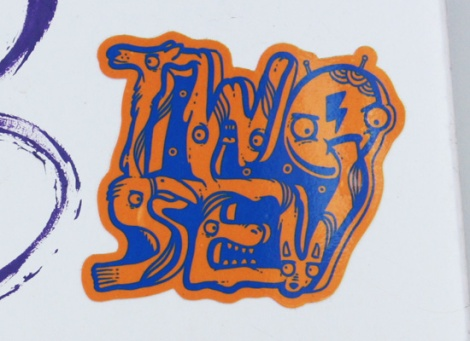 sticker by Two Sev