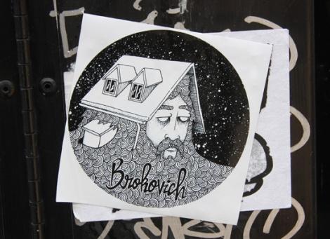 Brokovich sticker