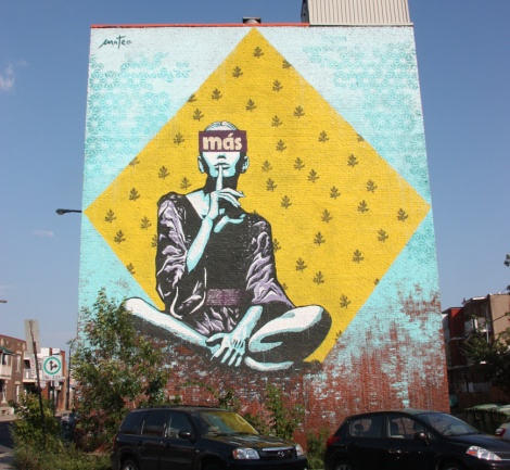 mural on Papineau by Mateo