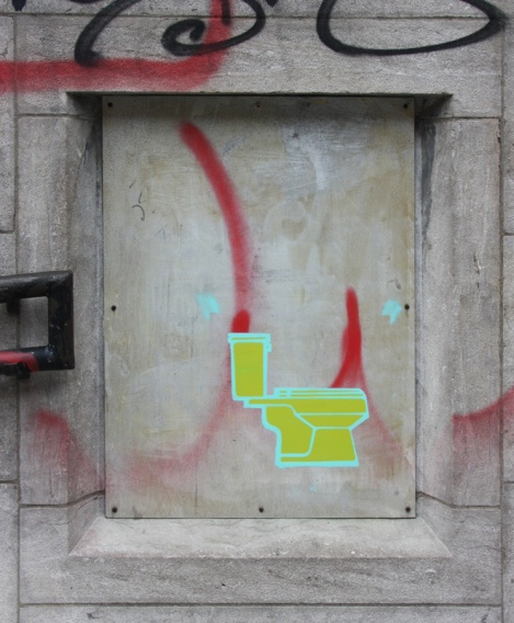stencil in St-Henri