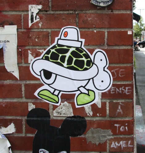 paste-up by Turtle Caps