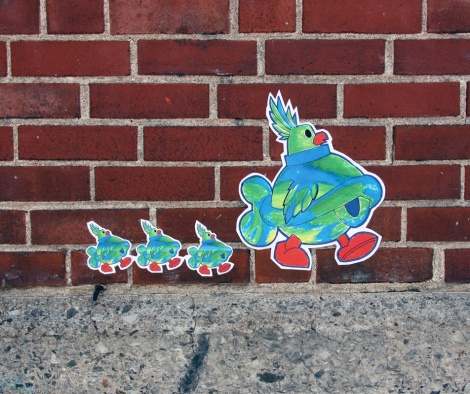 paste-ups by Turtle Caps
