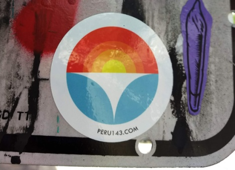 sticker by Peru