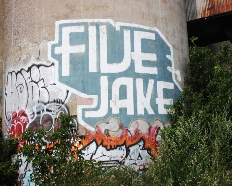 Five Eight, Jake at the abandoned Canada Malting Plant