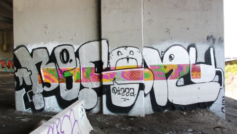 Bosny piece underneath expressway