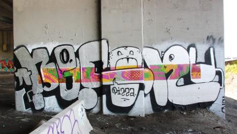 Bosny piece underneath expressway