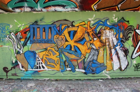 Hitem at the PSC legal graffiti wall