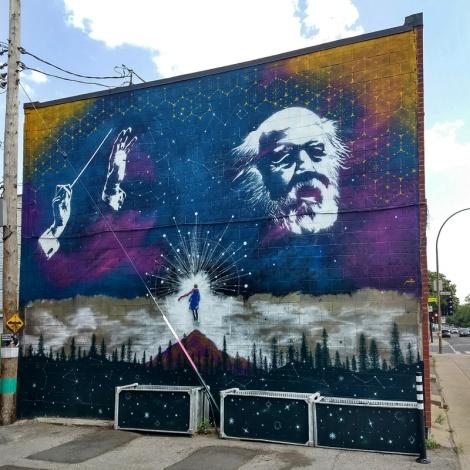 A Mateo mural in Rosemont