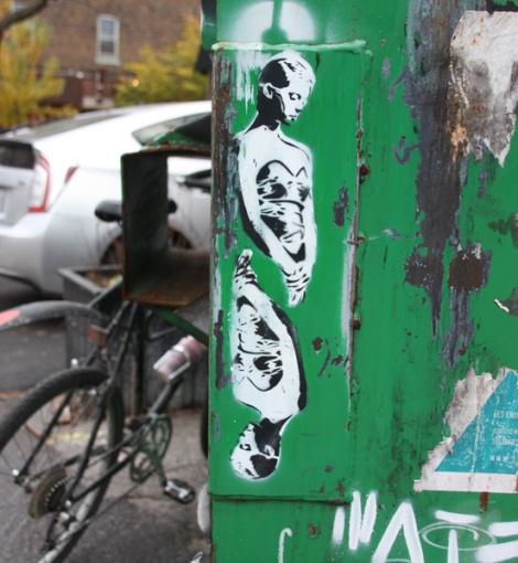 Mateo stencil in Mile End