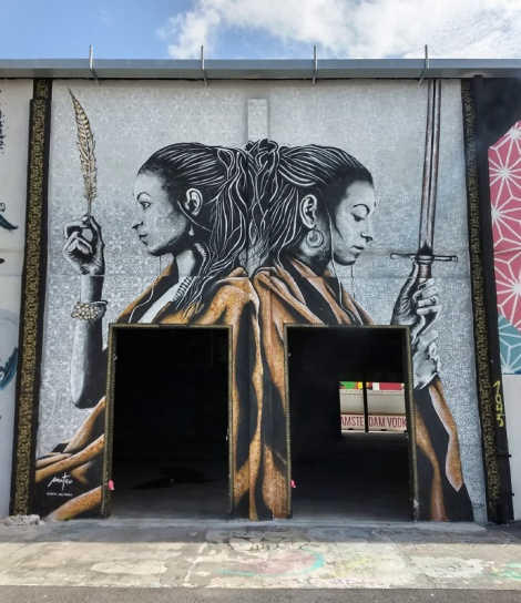 Mateo in Wynwood, Miami for the 2018 edition of Art Basel