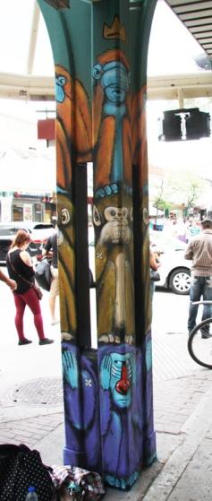Axe for K6A on Plaza St-Hubert post