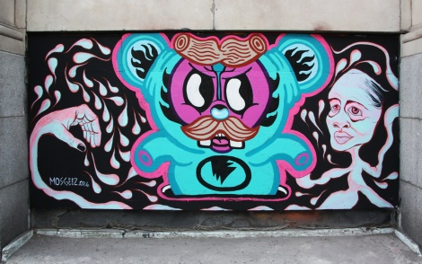Andy Dass and M'os Geez's contribution to the 2015 edition of the Under Pressure Festival