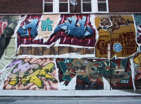 Crazy Apes' contribution to the 2015 edition of the Under Pressure Festival part 3 featuring Kred, A.One and Nasc