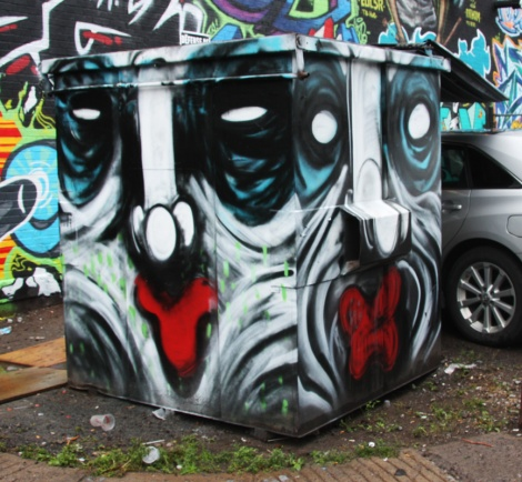 IAmBatman on a container for the 2015 edition of the Under Pressure Festival