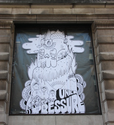 One of Loopkin's contributions to the 2015 edition of the Under Pressure Festival