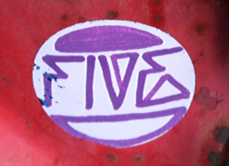 tag sticker by Five Eight