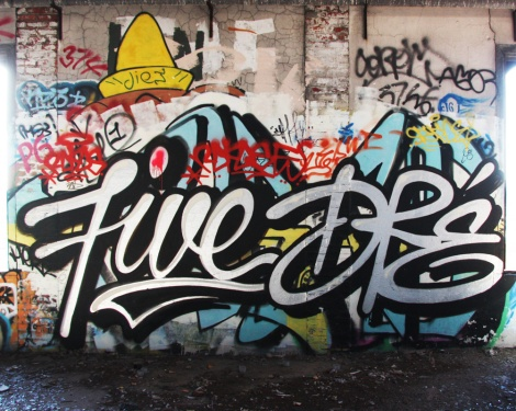 Five8 and Dré (Earth Crusher) in the abandoned Canada Malting Plant