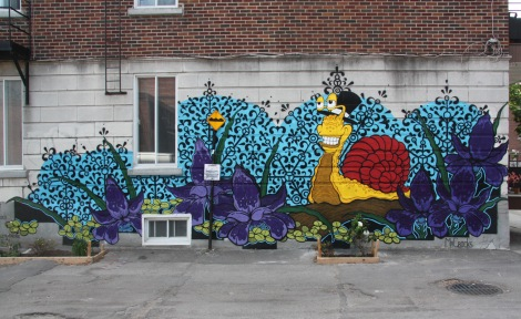 Mr Crocks mural in Petite-Patrie for Tandem Rosemont-La-Petite-Patrie