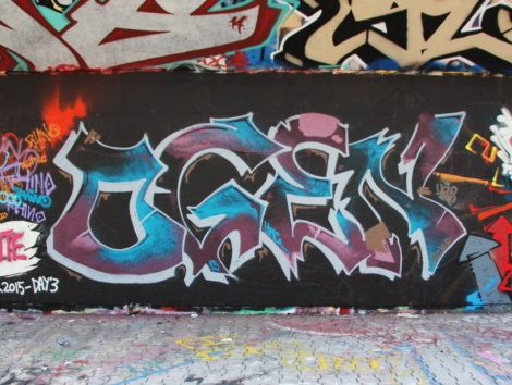 Ogen at the PSC legal graffiti wall