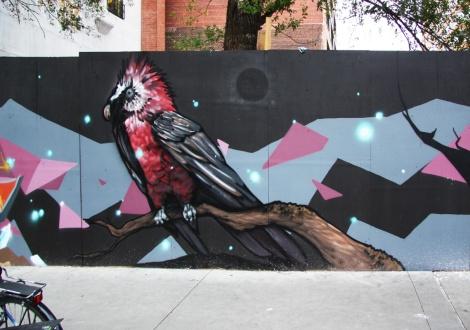 Arose mural in Plateau end (detail)
