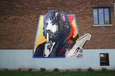 Mosaic by Gascon in Hochelaga