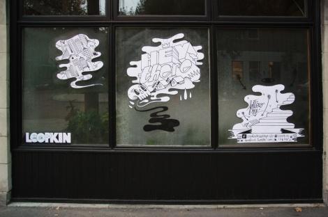 paste-ups by Loopkin
