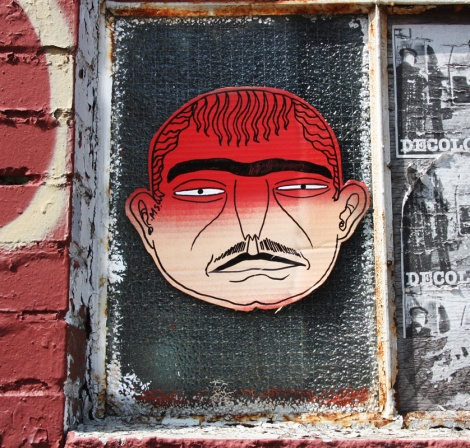 cardboard paste-up by Mono Sourcil