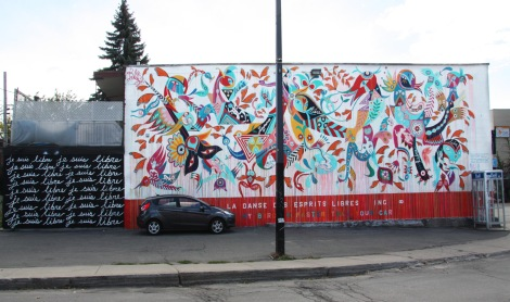 Carlito Dalceggio mural for Mu in the South West