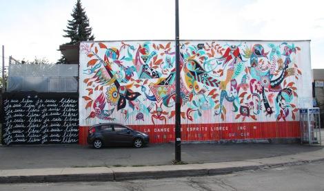 Carlito Dalceggio mural for Mu in the South West