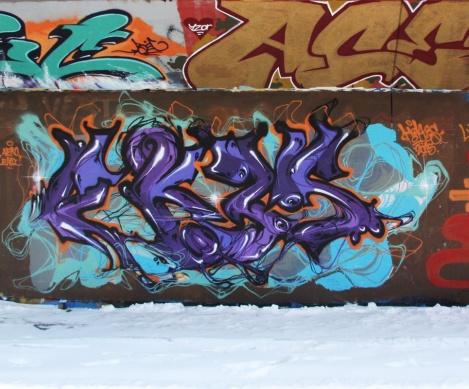 Ekes at the PSC legal graffiti wall