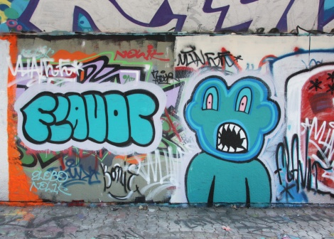 Flavor at the PSC legal graffiti wall