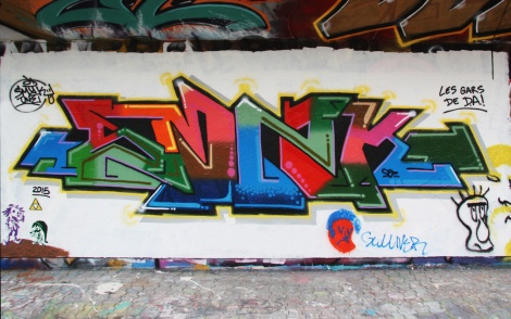 Smak One at the PSC legal graffiti wall