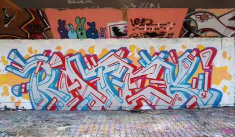Ratek at the PSC legal graffiti wall