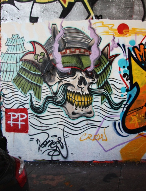 Wonez at the Rouen legal graffiti tunnel