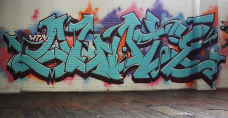 piece by Quote found in the abandoned Transco