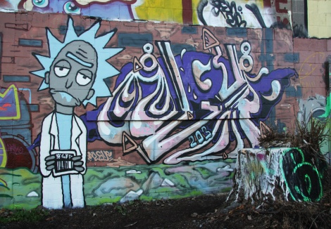 Algue piece in Rosemont