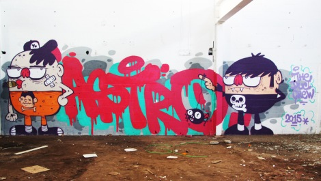Astro found in the abandoned Transco