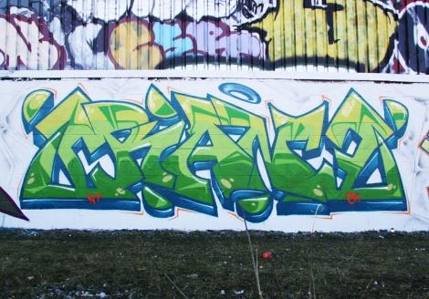 Crane in Rosemont