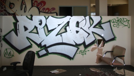 Rizek found in the abandoned Transco