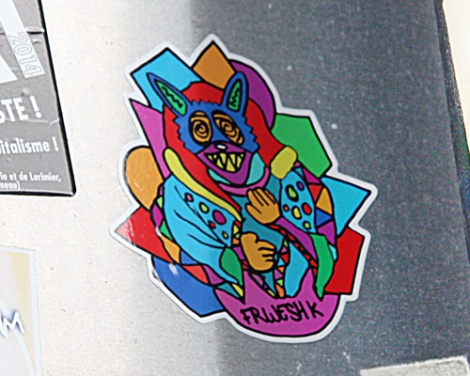 sticker by Le Renard Fou