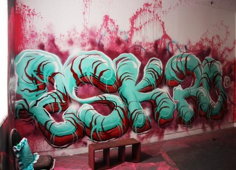 Eskro in the abandoned Transco
