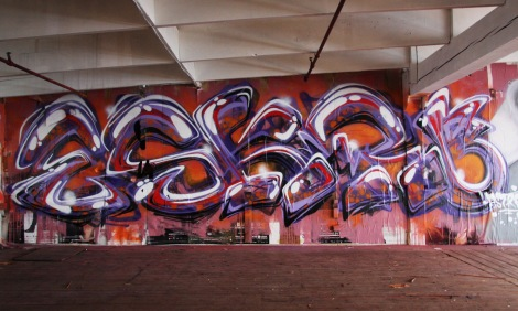 Eskro in the abandoned Transco