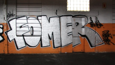 Fomer in the abandoned Transco