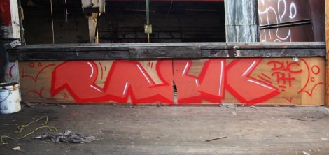Pask in the abandoned Transco