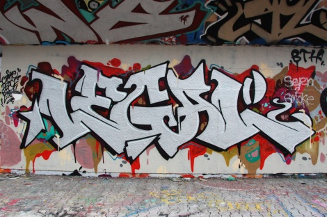 Legal at the PSC legal graffiti wall